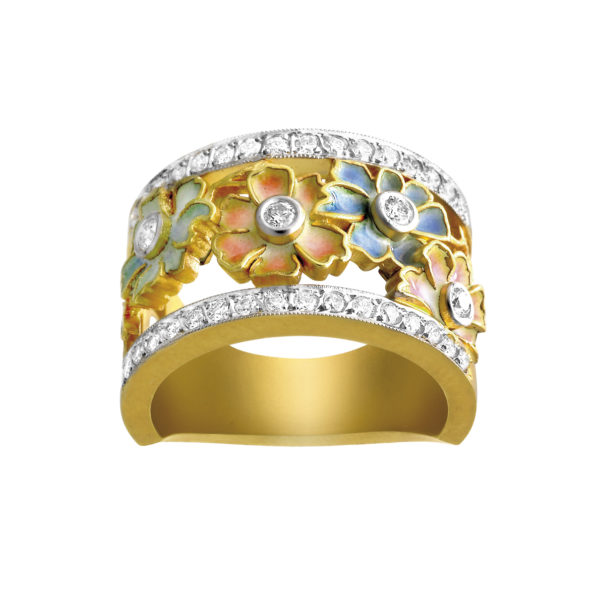 Flowering Garden Ring AN-193