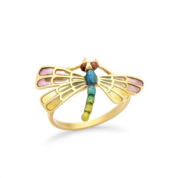 Charming Dragonfly Ring AN-274