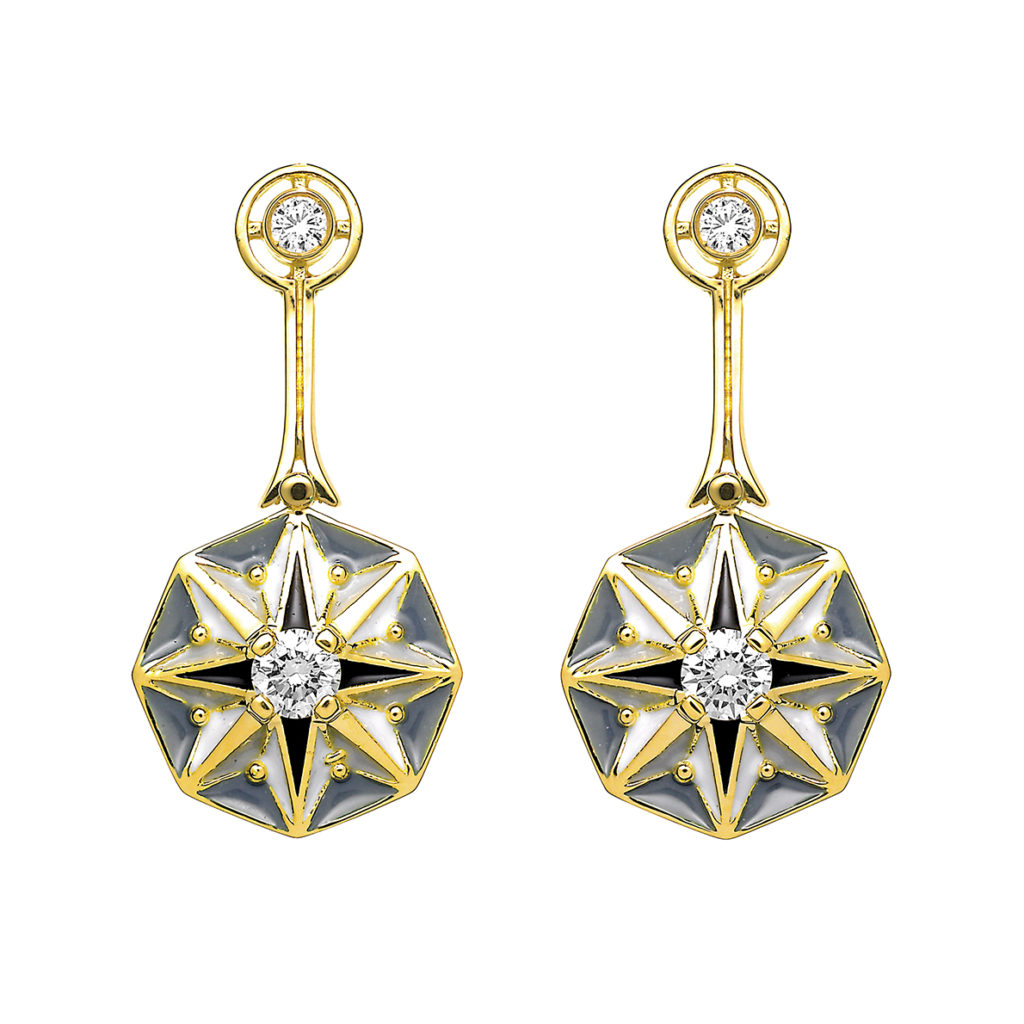 Lasting Star Earrings AR-110