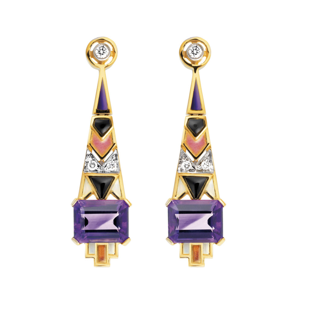 Pharaoh Earrings AR-128