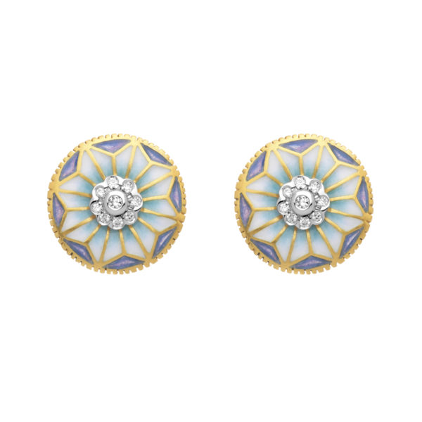 Fine Flower Earrings AR-234