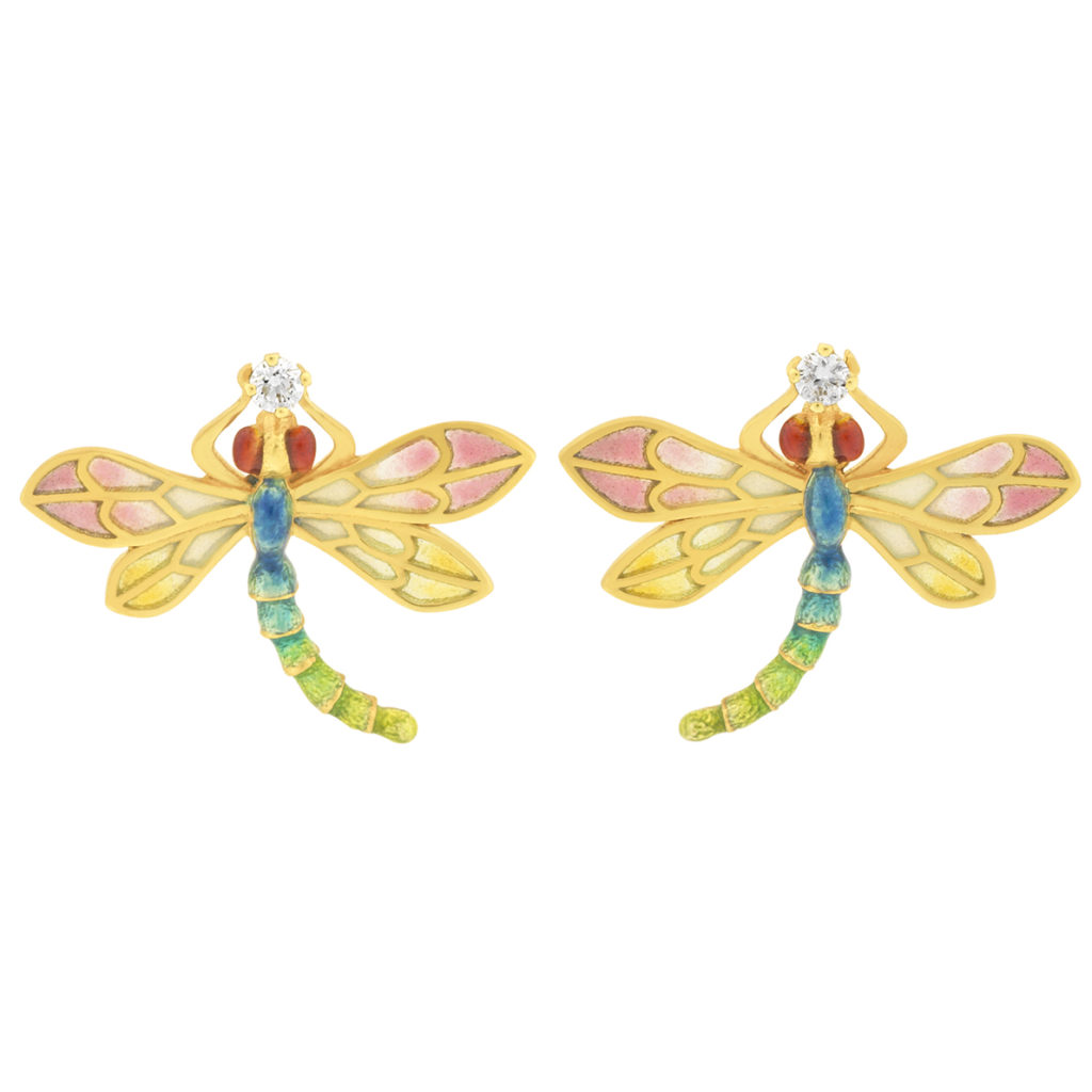 Dragonfly Twins Earrings AR-285