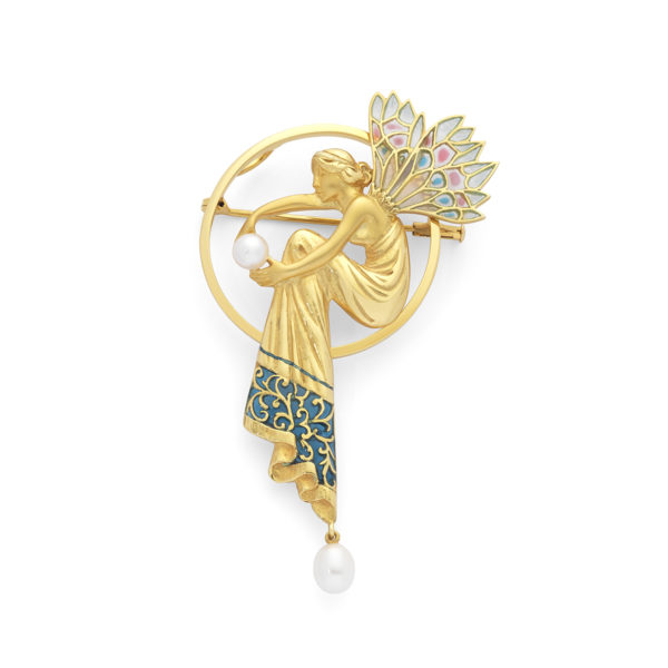 Golden Fairy Brooch/Pendant PB-176