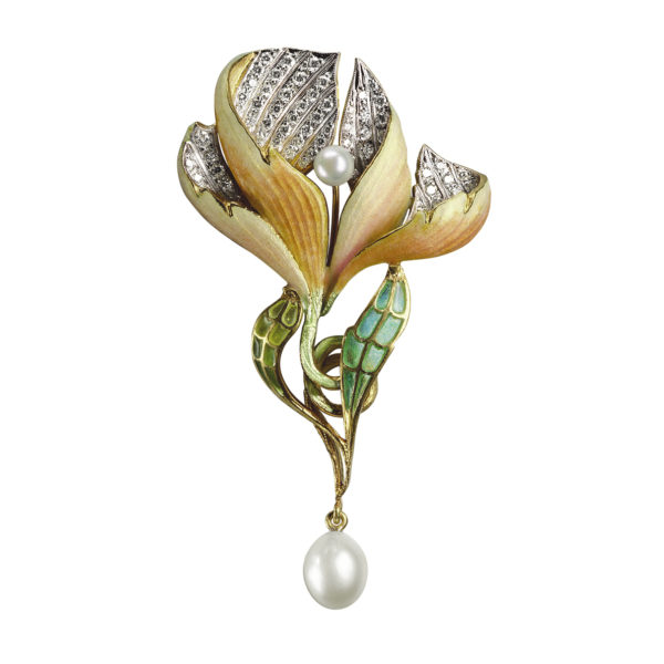 Petals Of Love Brooch/Pendant PB-288