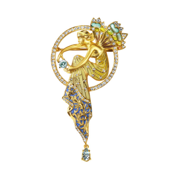 Water Fairy Brooch/Pendant PB-554