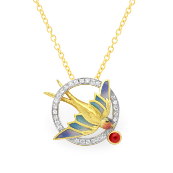 Flight Of Love Pendant PB-760