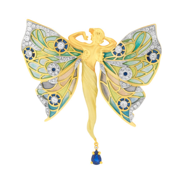 Butterfly Nymph Brooch/Pendant PB-751