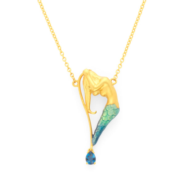 Lonely Mermaid Pendant PB-765