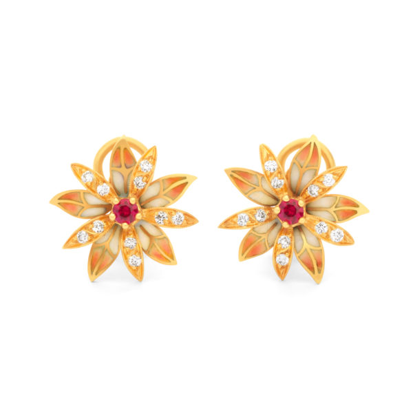 Red Secrets Earrings AR-21R