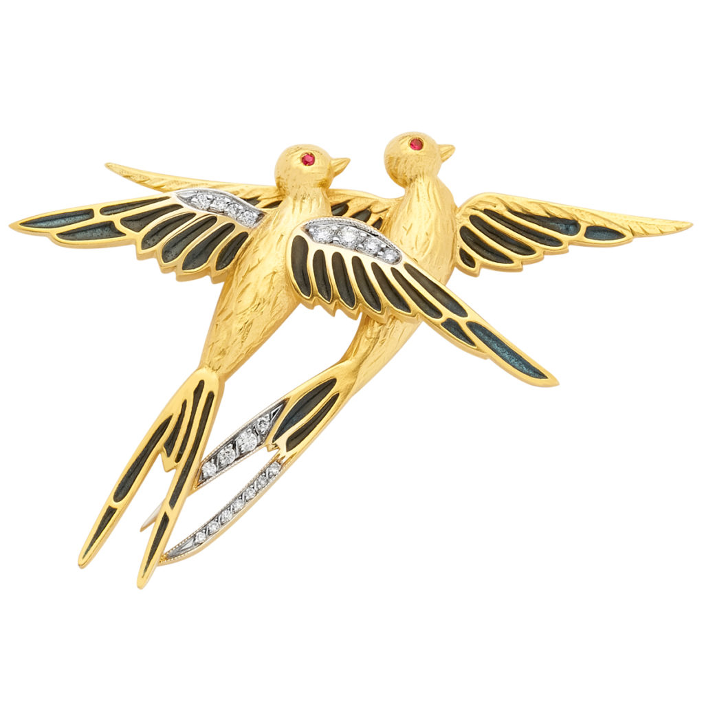 Two in One Brooch/Pendant PB-754