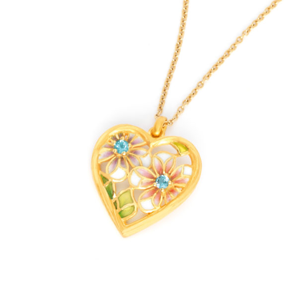 Beating Heart Pendant PB-594