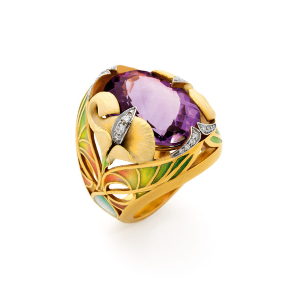 Lilies AN-368 Ring