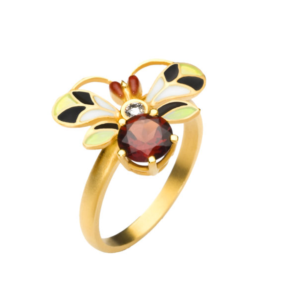 Dancing Insect AN-255 Ring