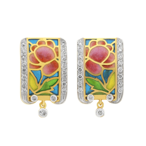 Essence of Roses AR-227 Earrings