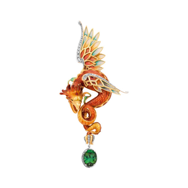 Flying Dragon PB-710 Pendant &Brooch