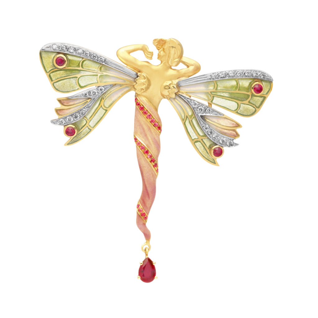Red Fairy PB-747 Pendant &Brooch