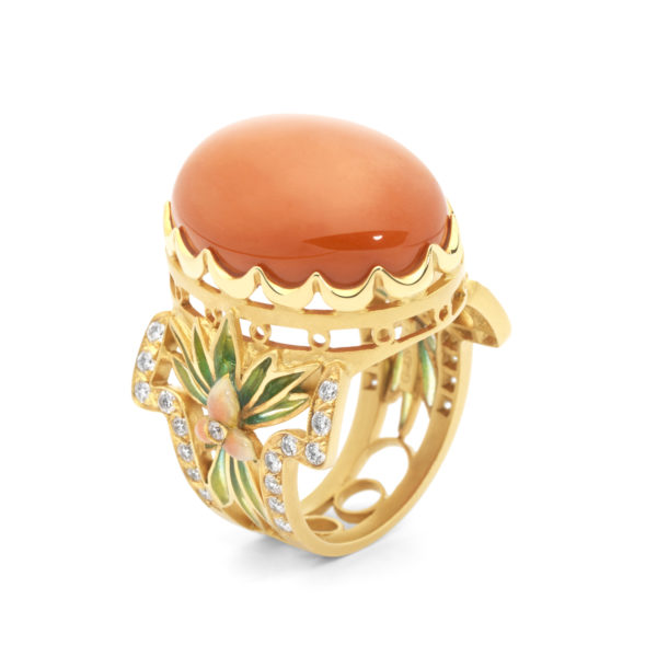 The Coral Queen AN-436 Ring