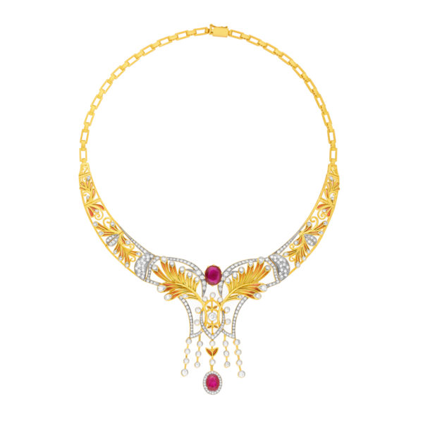 Ruby Passion CO-69 Necklace